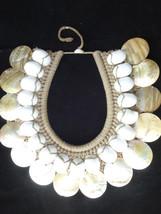 Fabulous Shell Necklace Hand Made Papua New Guinea Fashion Style Home De... - $199.33