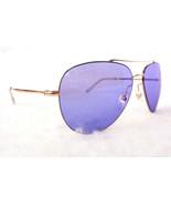 GUCCI Men's Sunglasses GG0500S Gold/Violet Aviator 59-14-140 MADE IN ITA... - $220.50
