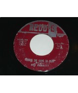 Mel Garrett That's The Game To Play You Promised Me 45 Rpm Record Redd-E... - $99.99