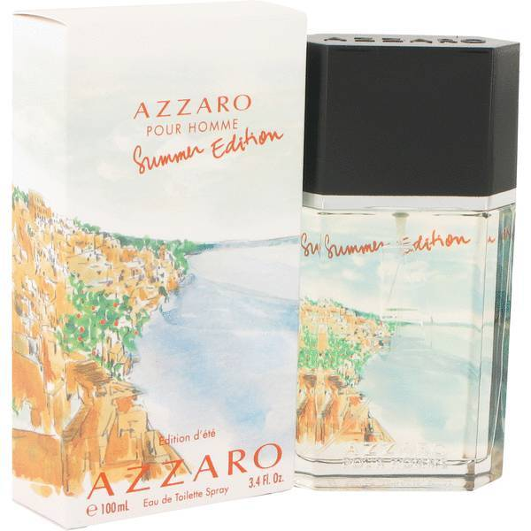 Azzaro summer edition pour homme 3.4 oz cologne