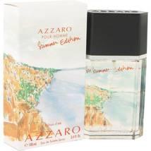 Azzaro Pour Homme Summer Edition Cologne 3.4 Oz Eau De Toilette Spray image 1