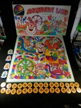 Amusement Land Kiddie Ride Game (from Selchow & Righter (1981) Complete - $13.99
