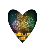 Happy New Year NB-Digital Clipart  - $2.00
