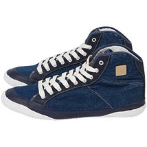 Unisex Fila Denim 3/4 High Top Fashion Sneaker (7, Cloud Denim) - $126.22