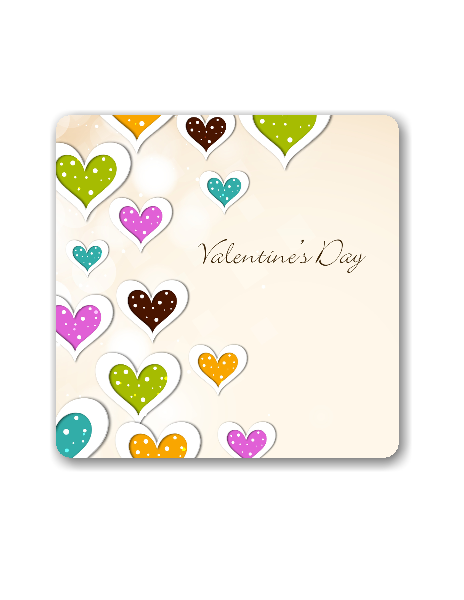 AC-Valentine Background Shape-Digital Clipart