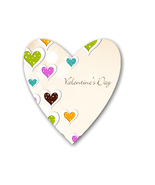 AC-Valentine Background Shape-Digital Clipart  - $4.00