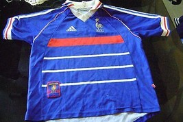 Fantasy old Jersey t-shirt France  size boys 1998 - £31.76 GBP