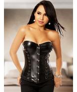 Steampunk Corset Overbust Sexy Black Gothic Women Waist Trainer Lingerie... - $29.99