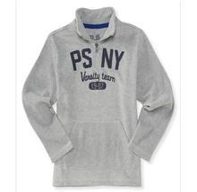 AEROPOSTALE Kids' BOYS PULLOVER SWEATSHIRT HOODIE L/S 1/4-Zip Fleece Pop... - $29.99