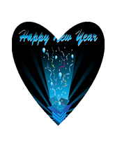Happy New Year NK-Digital Clipart  - $4.00
