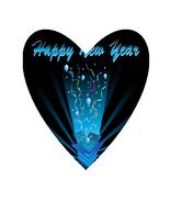 Happy New Year NK-Digital Clipart  - $3.85
