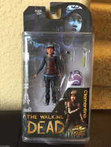 The Walking Dead Clementine Mcfarlane Figure Action Toy in Bloody Varian... - $49.99