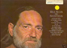 Willie Nelson sings Kristofferson vinyl LP - $1.98