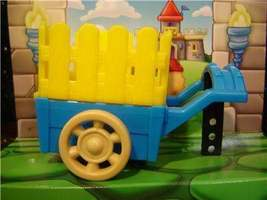 Fisher Price Little People Castle HAY WAGON CART/CAGE - $3.37