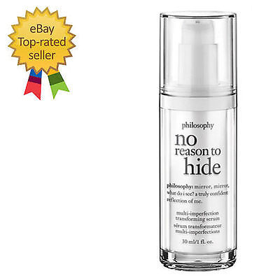 Primary image for Philosophy  NO REASON TO HIDE MULTI IMPERFECTION SERUM 1OZ size! NEW/BOXED!