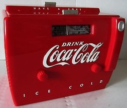 Coca-Cola Cooler Radio OTR-1949 (circa 1988) - $250.00
