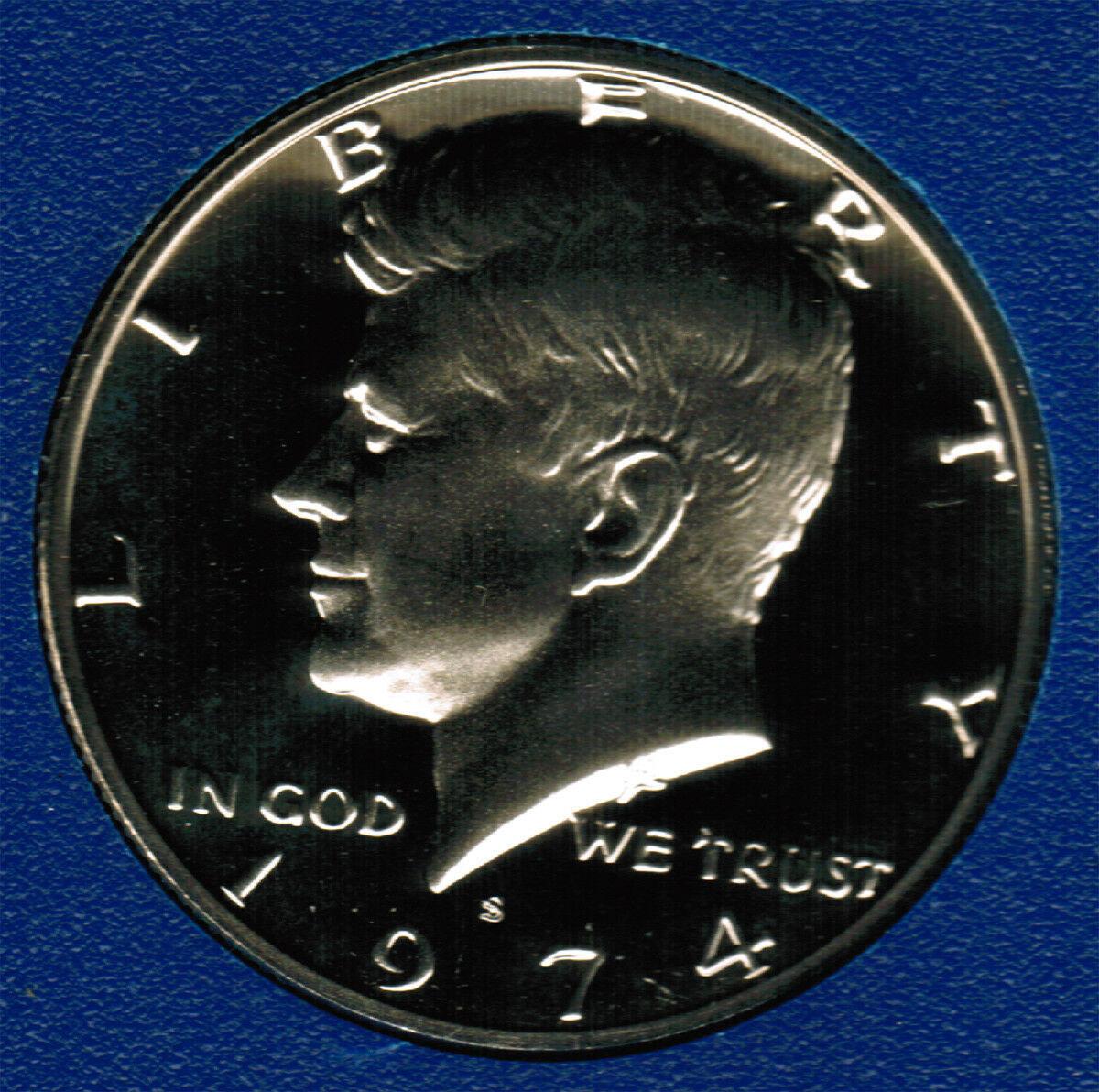 1974 S  Proof Kennedy Half Dollar CP2013