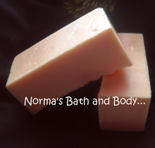 mango goats milk soap sample - $2.00