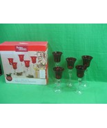 Five Votive Candle Holders Limited Edition Christmas Better Homes & Gard... - $15.85