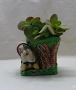 Vintage Mid Century Kitsch Elf // Dwarf Planter/Vase - $12.25