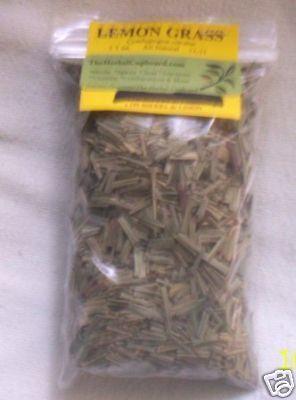 Lemon Grass, Thai&Asian cooking spice. Immune, Astringent 1 oz bag $2.75