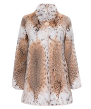 Women's Lynx Fur Coat Patricia - $1,980.00