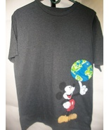 Disney Mickey Mouse Tee (Charcoal Heather Greyl) Men's T-Shirt - $15.99