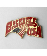 MLB MAJOR LEAGUE BASEBALL USA LAPEL PIN 3/4 inch - $4.46