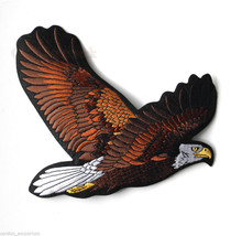 EXTRA LARGE AMERICAN EAGLE IN FLIGHT QUALITY EMBROIDERED JACKET PATCH 9 ... - $14.06