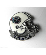 NFL FOOTBALL TITANS PEWTER METAL ENAMEL LAPEL P... - $5.54