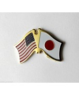 JAPAN JAPANESE FRIENDSHIP FLAG COMBO USA LAPEL PIN BADGE 1 INCH - $4.46