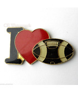 NFL FOOTBALL I LOVE FOOTBALL HEART LOGO LAPEL P... - $4.46