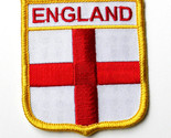 UNITED KINGDOM GREAT BRITAIN BRITISH ENGLAND ENGLISH UK SHIELD PATCH 2X3 INCHES