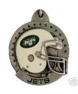 NFL FOOTBALL NEW YORK JETS PEWTER KEY RING KEYC... - $7.67