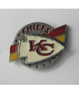 NFL OFFICIAL LICENSED FOOTBALL CHIEFS PEWTER ME... - $5.59