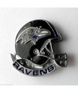 BALTIMORE RAVENS NFL FOOTBALL HELMET LOGO LAPEL... - $5.59