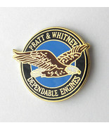 PRATT & AND WHITNEY ENGINE ENGINES AIRCRAFT AVIATION LAPEL PIN BADGE 1 inch - $4.46