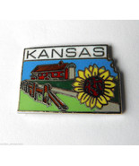 UNITED STATES US STATE OF KANSAS STATE MAP PIN ... - $4.46