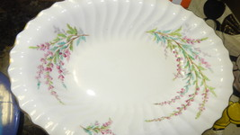 "Royal Doulton bone china ""Bell Heather""Oval Bowl  lot of 2 Free Ship #116 - $54.99"