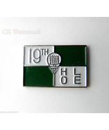 GOLF THE 19TH HOLE GOLFING NOVELTY LOGO GOLFER ... - $4.46