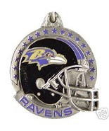 NFL FOOTBALL BALTIMORE RAVENS PEWTER KEY RING K... - $7.67