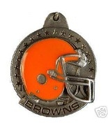NFL FOOTBALL CLEVELAND BROWNS PEWTER KEY RING K... - $7.67