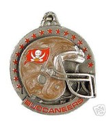 NFL FOOTBALL TAMPA BAY BUCCANEERS PEWTER KEY RI... - $7.67