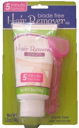 Hair removal 5min