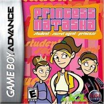 Princess Natasha: Student/Secret Agent/Princess - Game Boy Advance - $4.99