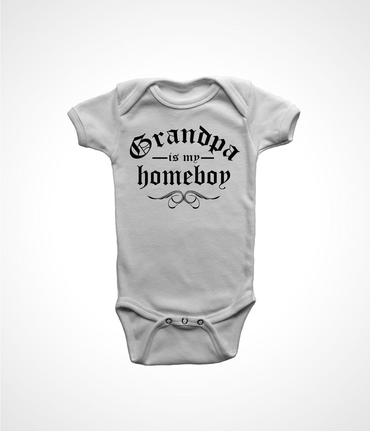 grandpa shirt baby boys infant funny gangster gift for ...
