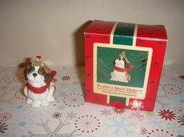 Hallmark 1986 Puppy's Best Friend Ornament - $9.69
