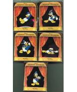 Donald Duck Set of 5 LE in original box Authentic Disney Pins - $145.00