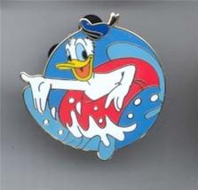 Donald Duck inner tube Cast Lanyard Authentic Disney pin - $14.99