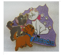 Marie, Berlioz and Toulouse Aristocats Authentic Disney Japan LE 500 Pin... - $159.00